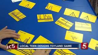 Nashville Teen Creates Face-Paced Card Game, BLDR