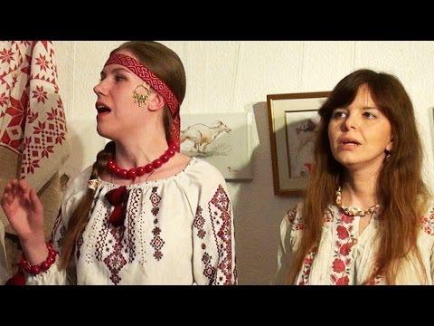 Черный ворон воду пил ☀ Вся Надєжда / обрядовая свадебная хороводная русская народная песня