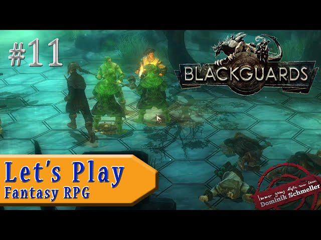 Let's Play Blackguards #11: Vergiftet (Rollenspiel / Das Schwarze Auge / blind)