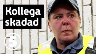 Tunnelbanan | Vad hände sen? Ordningsvakterna Pirre och Annelie blev misshandlade av ungdomsgäng