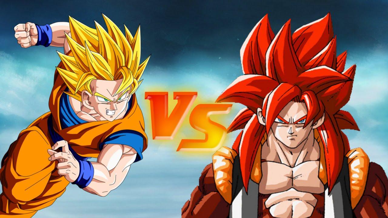 DRAGON BALL Z FIERCE FIGHTING GOGETA FASE 4 VS GOKU SUPER