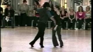 Arjay Centeno and Jennifer DeLuca West Coast Swing