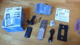 VTech Connect to Cell - Unboxing of VTech DS6511