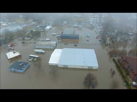 Watseka, IL Flooding 2-23-2018