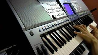 The Professionals Theme on YAMAHA PSR-1500 Keyboard
