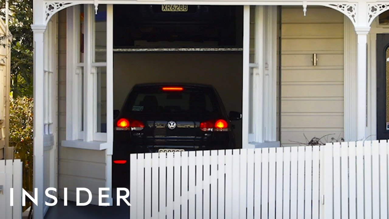 Home Can Hide 2 Cars In Hidden Garage Youtube