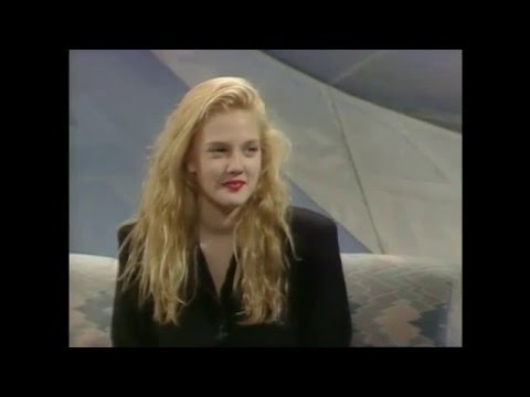 15-Year-Old Drew Barrymore - Her Drug Addiction, Famous Family & Early Career (1990 Interview)