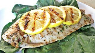 Grilled Rock Fish - Preparing An Herb And Butter Marinade - Poormansgourmet