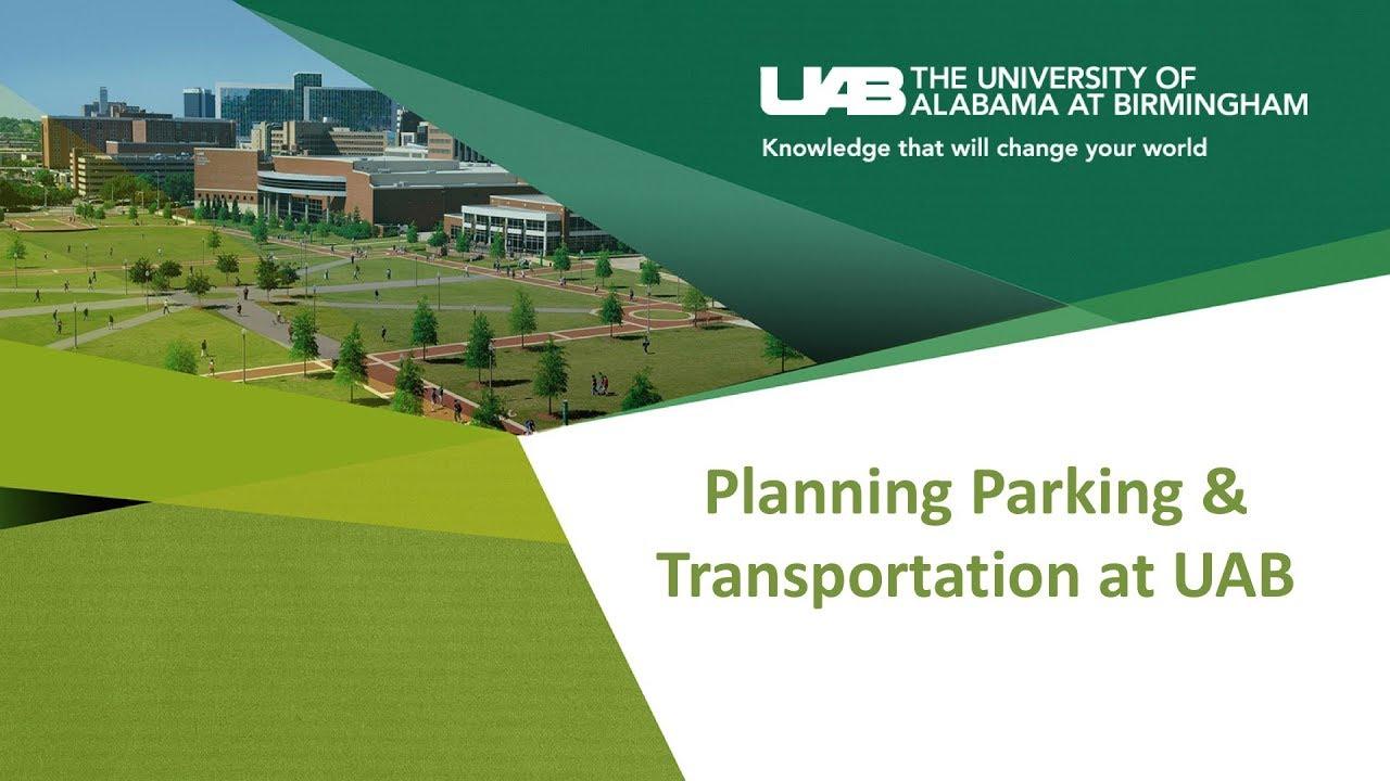 2018 UAB USGA Town Hall - Parking and Transportation