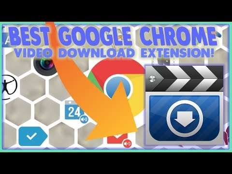 Google Chrome Download ANY Video Extension! Best, Easy, Free, and QUICK In SECONDS!