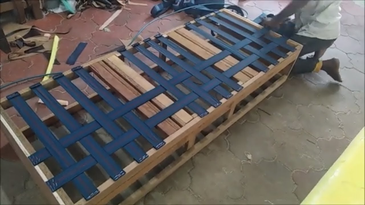 How To Make Sofa Step By Import Model Set Making Couch Belt Cushion