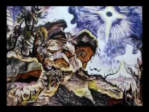 """Sun and Rocks"" by Charles Burchfield"