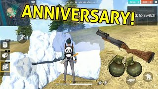 EXPLOSIVES ONLY MODE + FIRST ANNIVERSARY! - Garena Free Fire