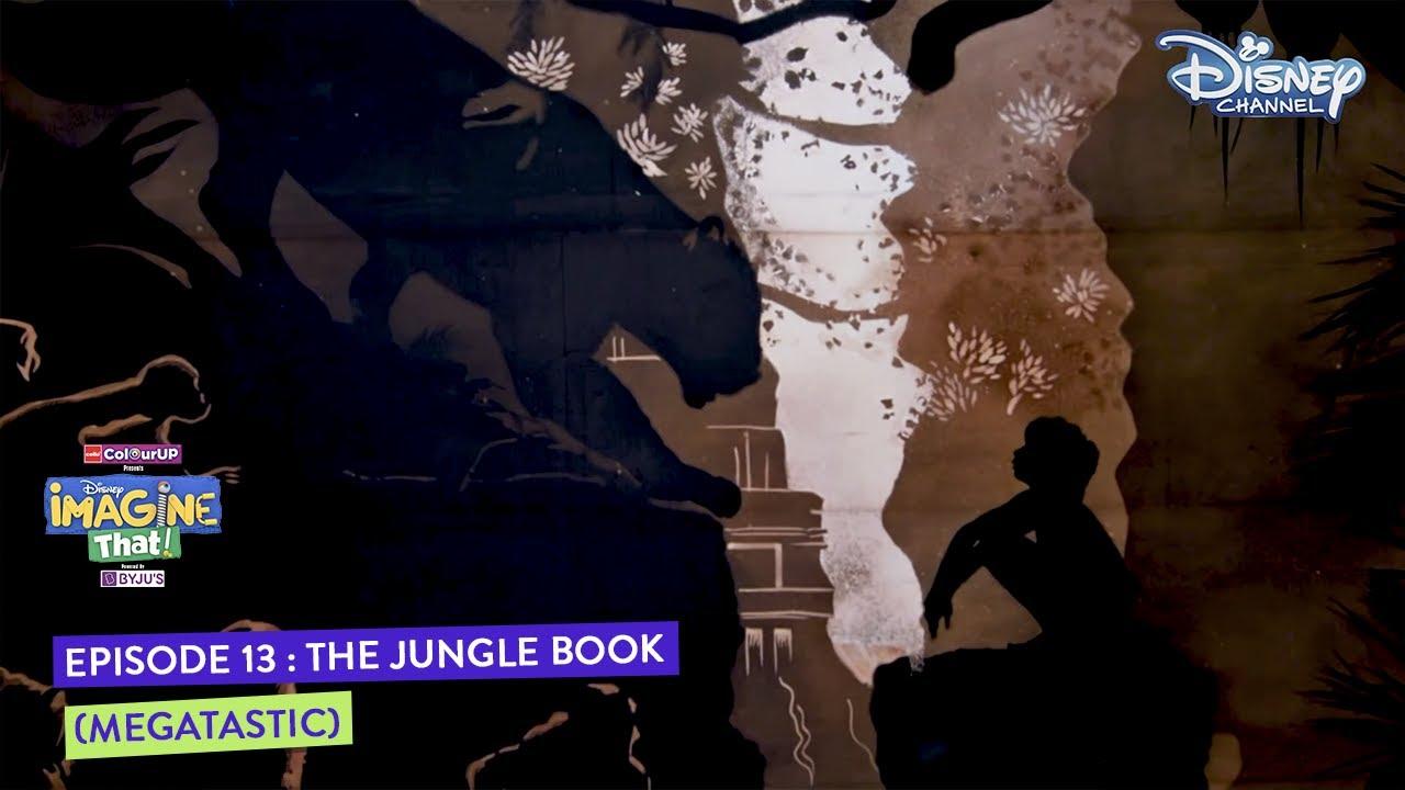 Disney Imagine That | Megatastic Art |The Jungle Book | Printing | Episode 13 | Disney Channel