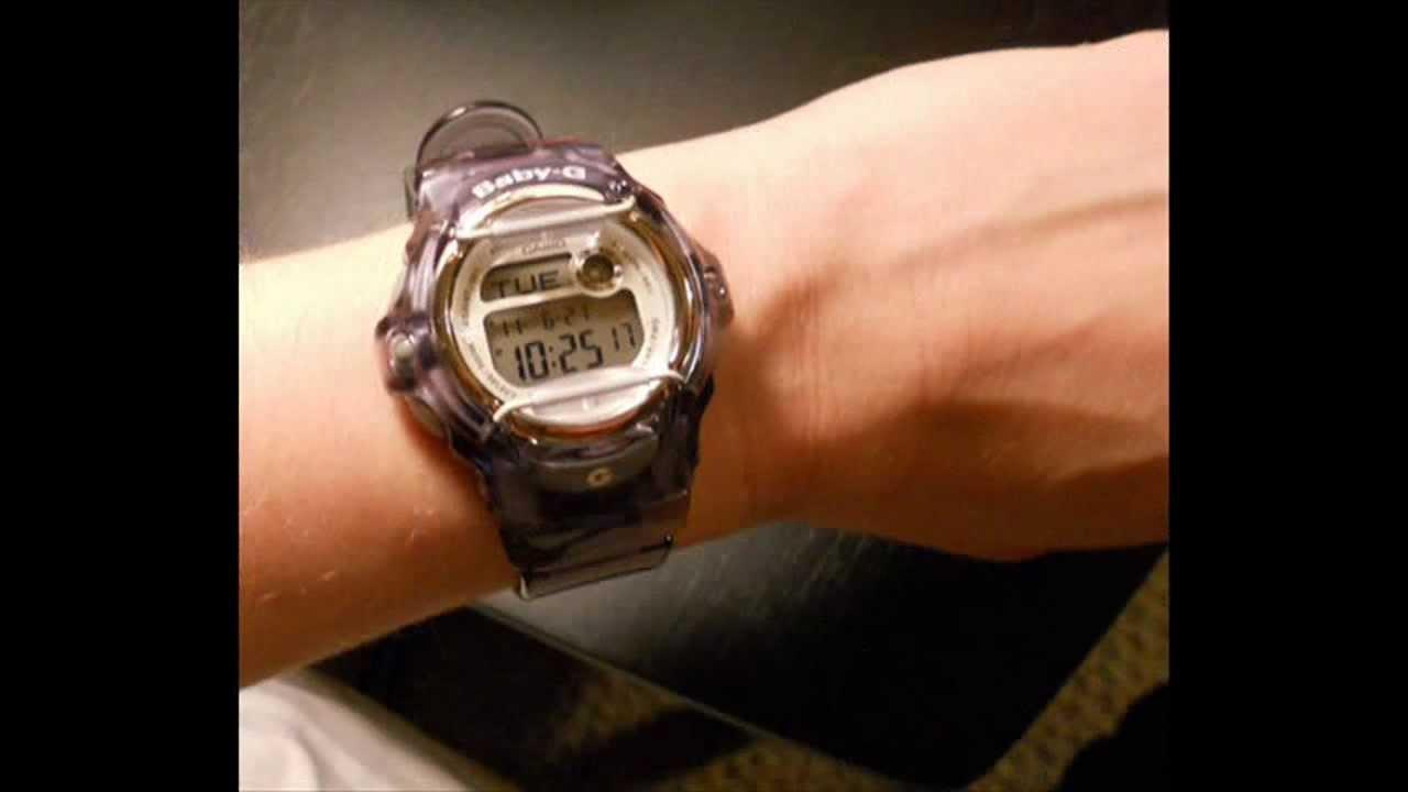 Casio G-Shock Watches  Casio Women s Baby-G Gray BG169R-8 - YouTube ba96f92e53