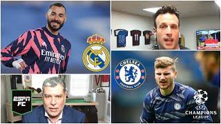 CHAMPIONS LEAGUE Real Madrid vs Chelsea, las claves de la semifinal. ¿Cuál es favorito? | ESPN FC