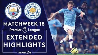 Manchester City v. Leicester City | PREMIER LEAGUE HIGHLIGHTS | 12/21/19 | NBC Sports