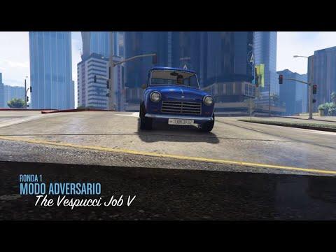 NUEVO MODO ADVERSARIO THE VESPUCCI JOB V GTA V ONLINE