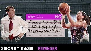 Sue Bird's famous Big East Tournament buzzer-beater needs a deep rewind | 2001 UConn vs. Notre Dame