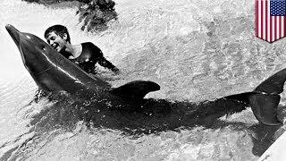 イルカと… NASAの女性 thumbnail