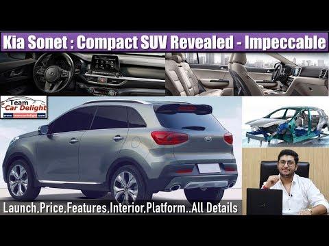 "Kia Compact Suv India Kia Sonet Launch Date Price Features Interior Team Car Delight Ë¥¼ ̜""í•œ ̜íŠœë¸Œ ̘ìƒ ͆µê³"" Noxinfluencer"