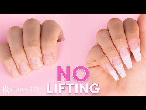 How To Avoid Lifting!🙅🏻♀️ Nail Prep For Beginners 💅🏻How To Prep Nails For Acrylic, Gel, And Dip