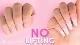 How to avoid lifting!🙅🏻‍♀️ Nail Prep for Beginners 💅🏻How to Prep Nails for Acrylic, Gel, and Dip
