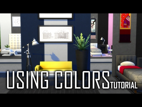 The Sims 4 Tutorial | COLOR COORDINATION