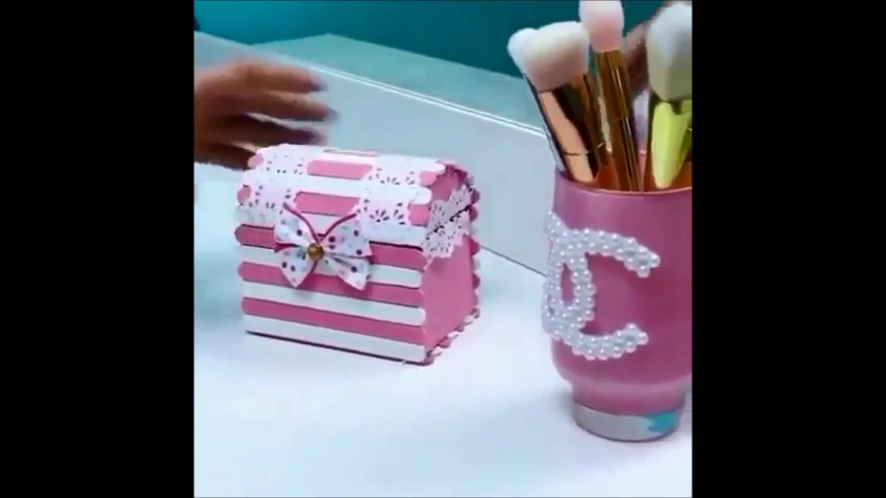 Video How to make Gift Box or Jewelry Box from cardboard YouTube