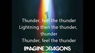Imagine Dragons-Thunder Lyrics