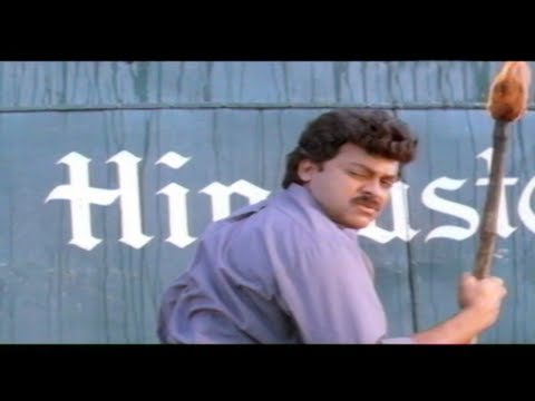 Gharana Mogudu Full Movie Part 08/13 - Chiranjeevi, Nagma, Vani Viswanath