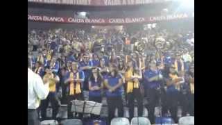Banda Azul y Oro UANL - GANGNAM STYLE  @ Estadio Universitario