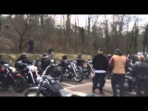 Valley Commandos MC at Goytre Bike Show
