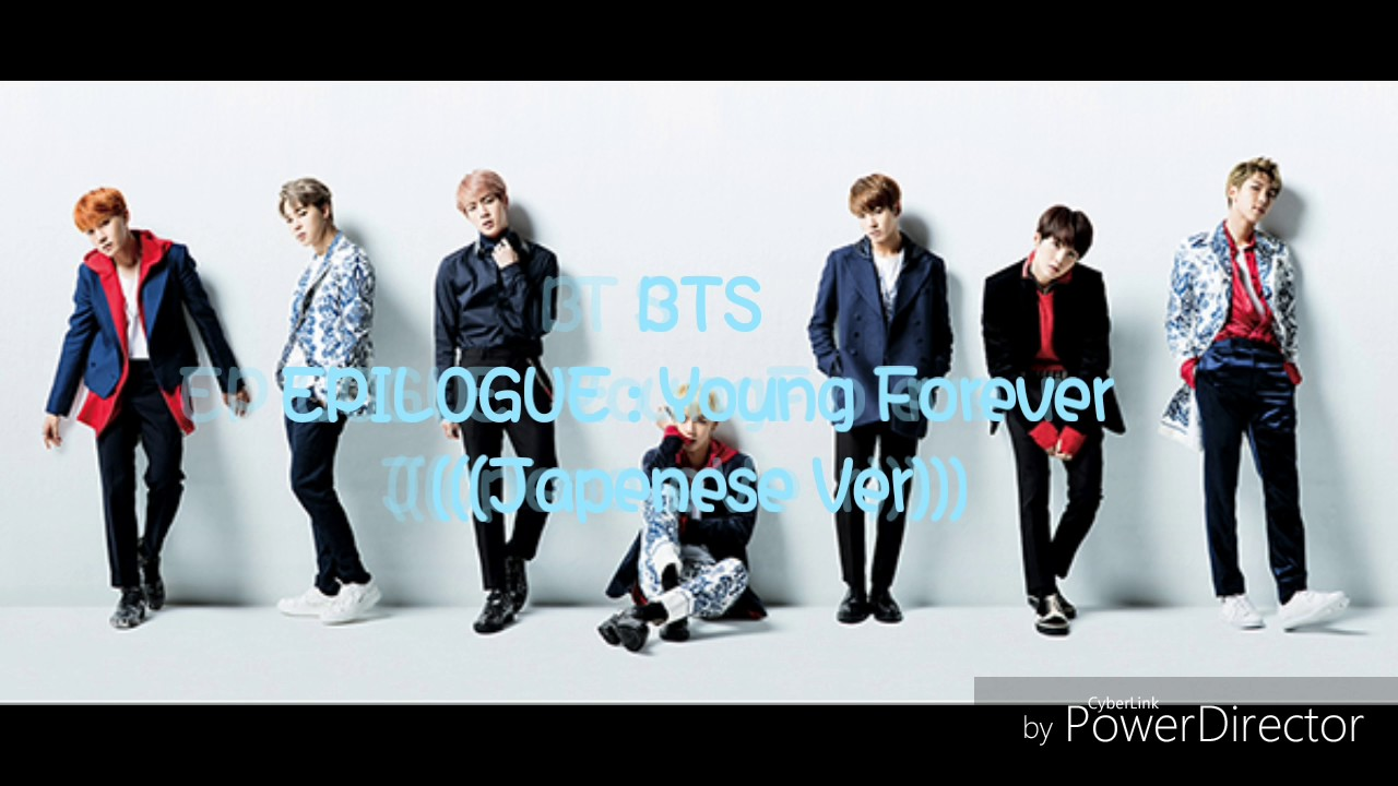 BTS - Young Forever Japenese