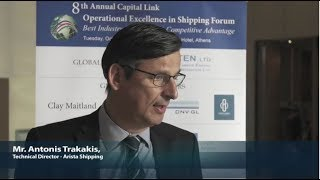 2018 8th Annual Operational Excellence in Shipping - Antonis Trakakis Interview