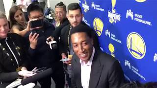 Scottie Pippen on having Andre Iguodala compared to him