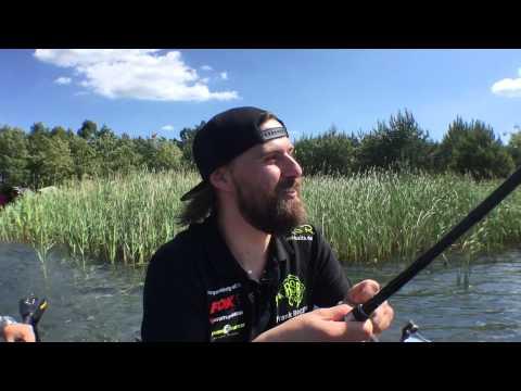 Live Biss auf Karpfen mit Drill beim Video Dreh  RSR-Baits