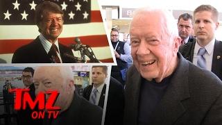 Jimmy Carter Has Some Advice For Donald Trump | TMZ TV