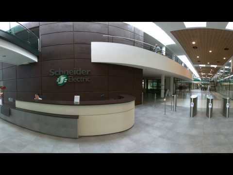 Visite virtuelle chez Schneider Electric / Electropole – Centre mondial de R&D - Eybens (38)