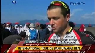 Pelepasliaran Tukik acara Tour de Banyuwangi Ijen