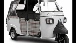 The new Limited Edition Piaggio Ape Calessino Tukxi.com