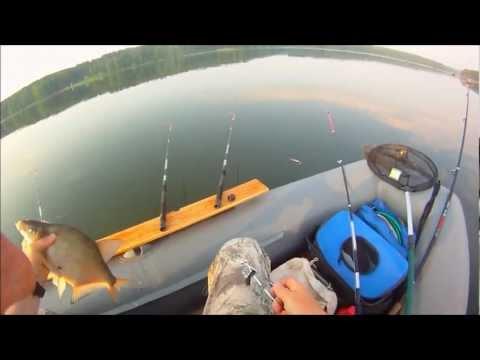 ловля густеры с лодки