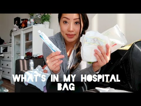 What's In My Hospital Bag | Updated And REALISTIC | Canada Edition