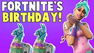 Fortnite's Anniversary, Birthday Llamas, Canny Valley Story & More! | Fortnite Save The World News