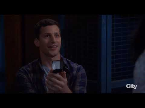 Brooklyn Nine-Nine | 5x04 | Jake Proposes to Amy (FULL SCENE)