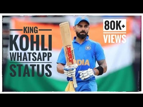 Mass Whatsapp Status| Latest King Virat Kohli | Kalki Mass Bgm | 2019