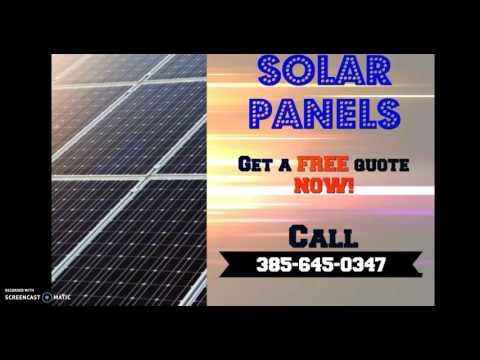 SOLAR PANELS LAYTON UTAH |(385)-645-0347 SOLAR ROOF UTAH (CALL US)