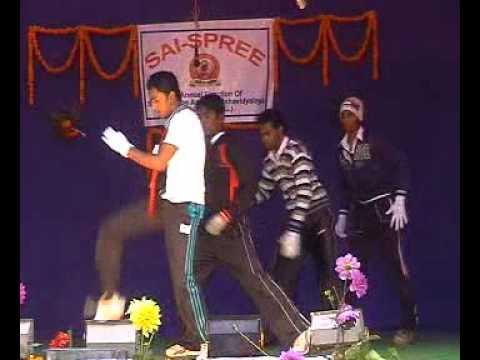 Sai college Ambikapur surguja (c.g.) GROUP DANCE BY ARVIND.mpg