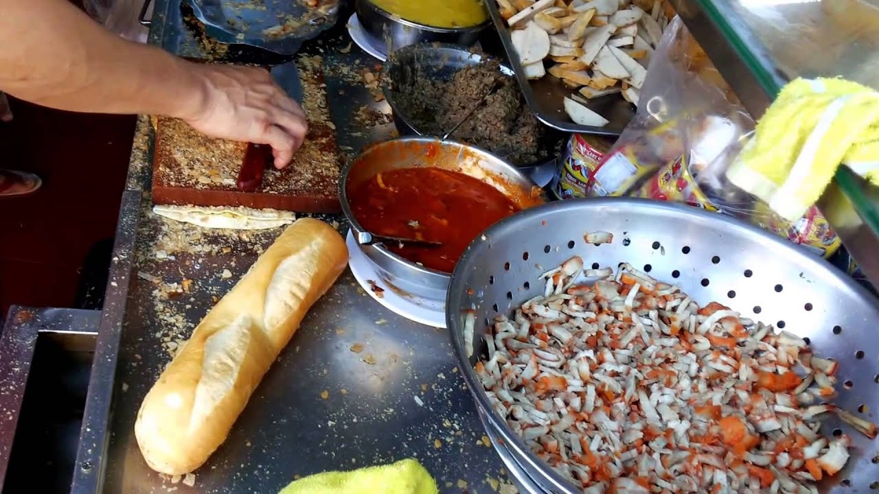 Asian street food video