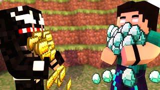 Minecraft: VAMOS FICAR RICOS! - DESAFIOS COM VENOM! #09